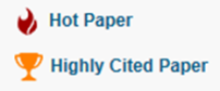 icon - wos esi top papers