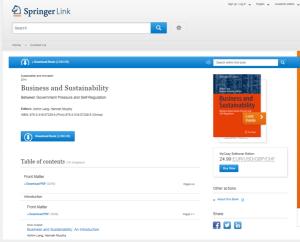 springerlink e-book