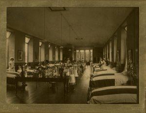 Royal Aberdeen Children's Hospital ward c.1889