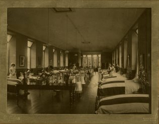 Royal Aberdeen Children's Hospital ward c.1889