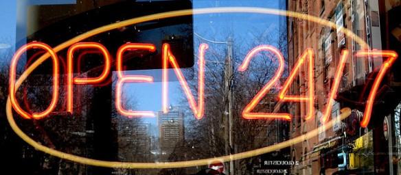 24 7 opening