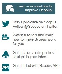 How to improve Scopus