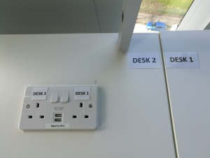sockets and usb chargers