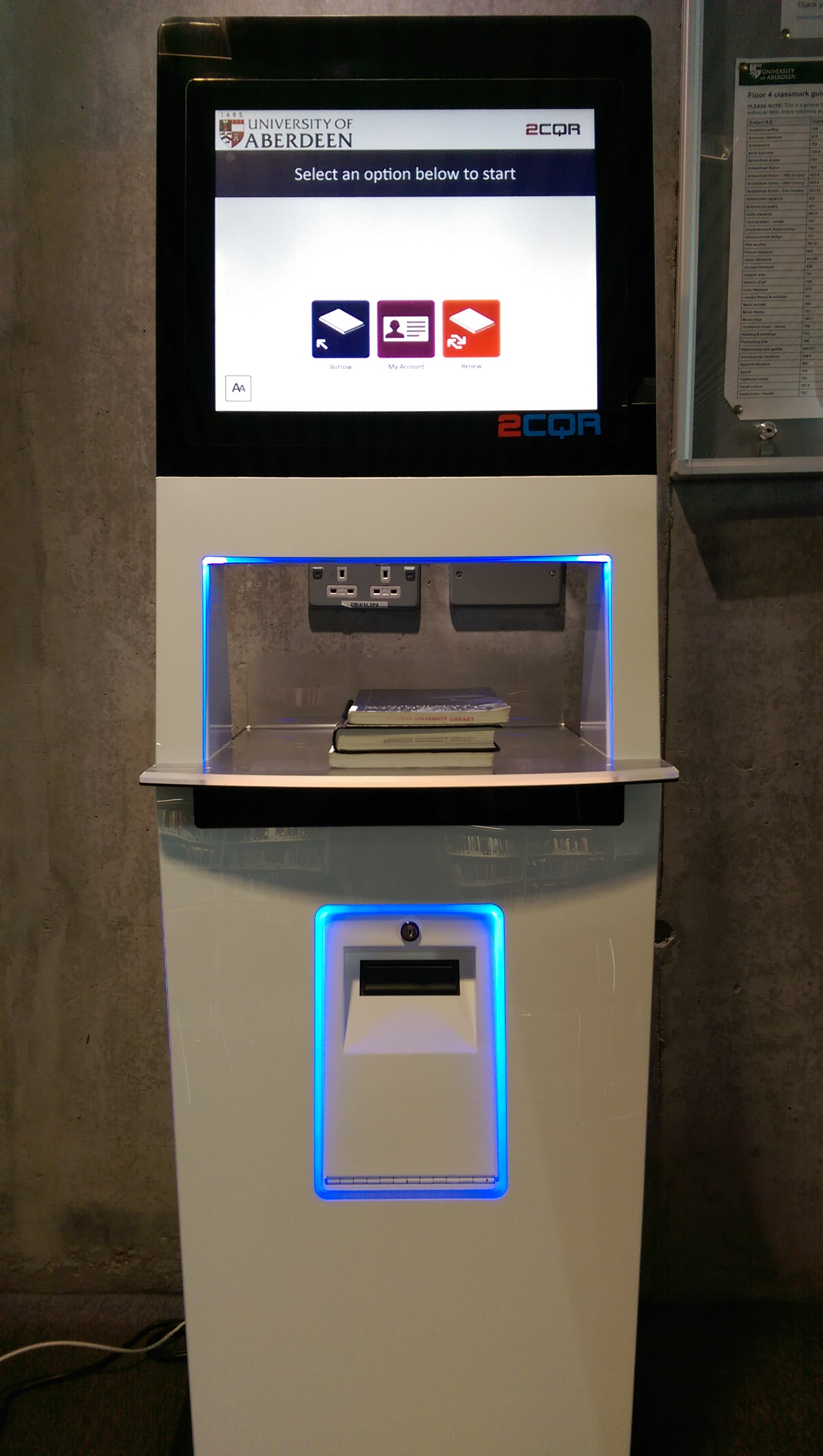 self issue machine